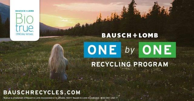 f3fb62b18f7ff Bausch   Lomb ONE by ONE Recycling Program